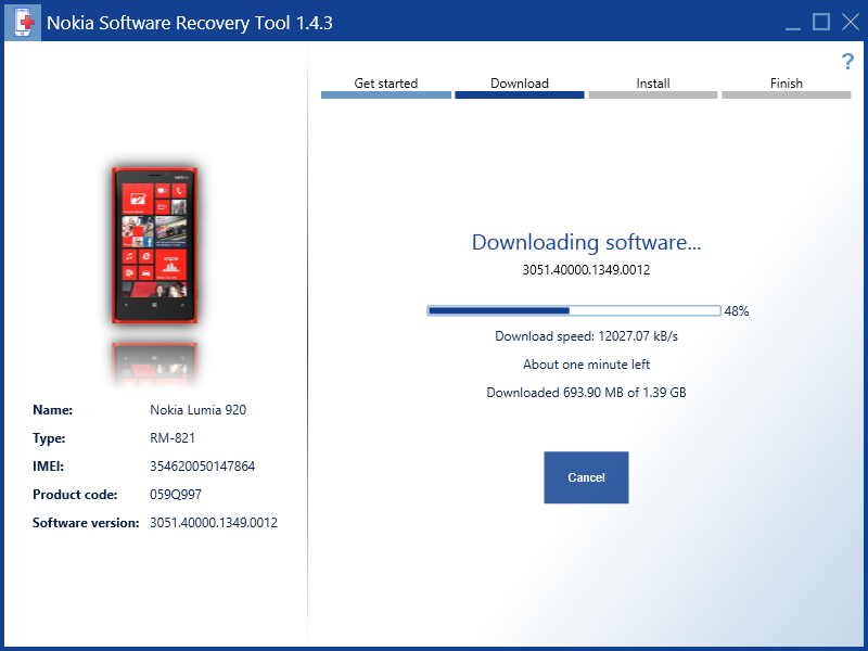Nokia Software Recovery Tool Images Updated With Windows