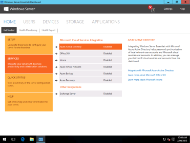 Windows Server Essentials 2016 Technical Preview 3 Microsoft