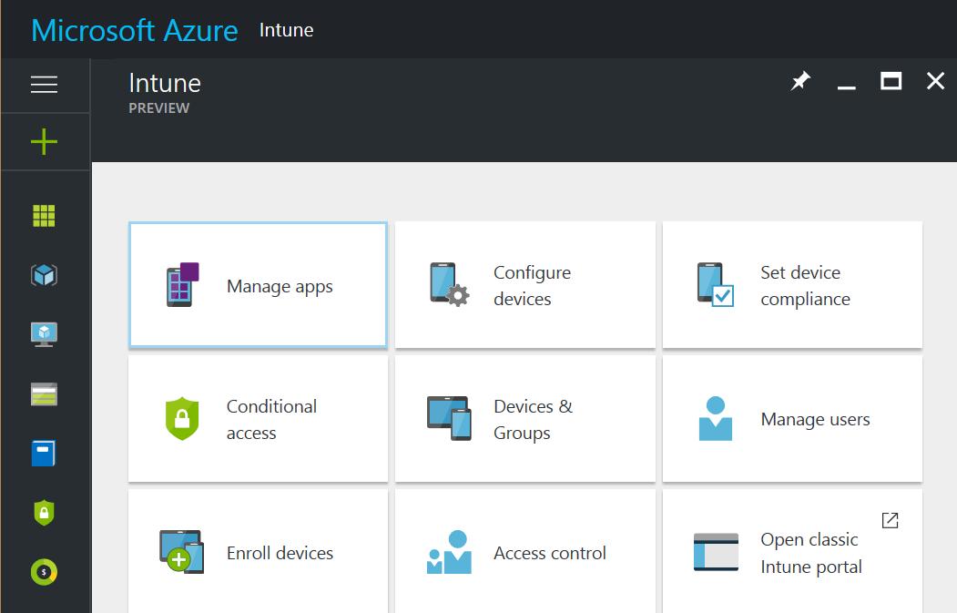 Microsoft Intune in the Azure Portal – intunedin net