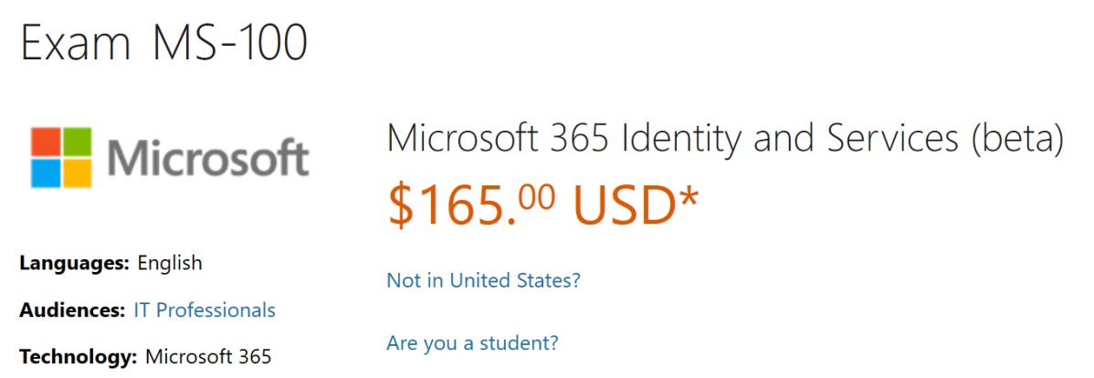 Preparing For The Ms 100 Microsoft 365 Identity And Services Exam