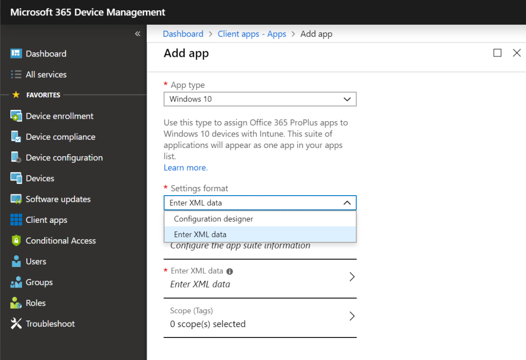New Options For Deploying Microsoft 365 Business Desktop